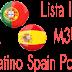 M3U Lista IPTV Latino Spain Portugal Arabic