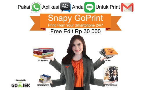 Snapy, Percetakan paling UP to Date di Jakarta