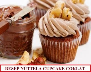 Resep dan Cara Membuat Nuttella Cupcake Coklat