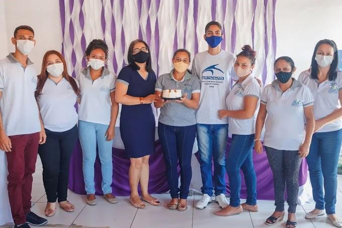 Secretaria de Assistência Social de Mata Roma - MA  realizou ação Agosto Lilás.