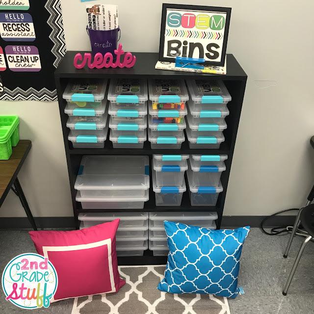 Stem School Classroom: 2nd Grade Stuff: Classroom Reveal 2017-2018