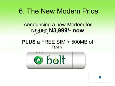 Price of glo bolt modem
