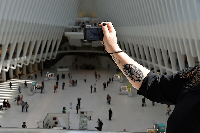 oculus, new york, world trade center, transportation hub, tattoo