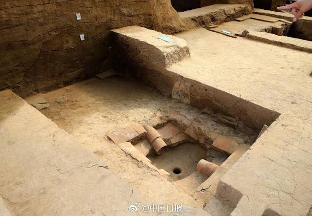2,000 year old luxury baths discovered in NE China