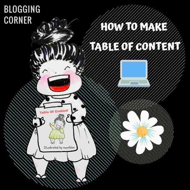 Cara membuat Table Of content dengan Jump link