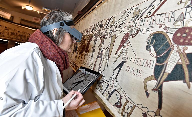 Étude de la tapisserie de Bayeux