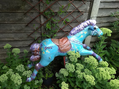 carousel horse from old rocking horse