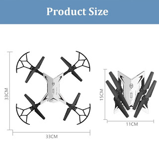 Spesifikasi Drone KY601S - OmahDrones