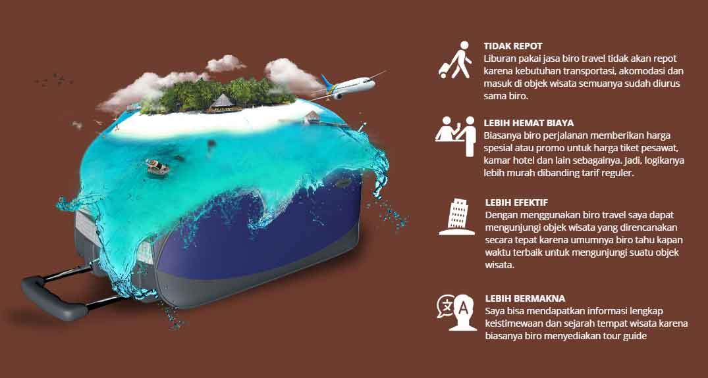 Keuntungan Pakai Travel Agent