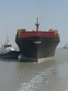 النقل : ست سفن تجارية ترسو على ارصفة ميناء ام قصر الشمالي