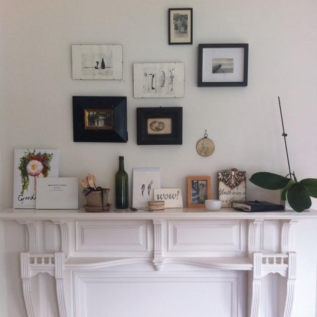 Mantel Arrangements: Chic Fireplace Mantel Arrangements