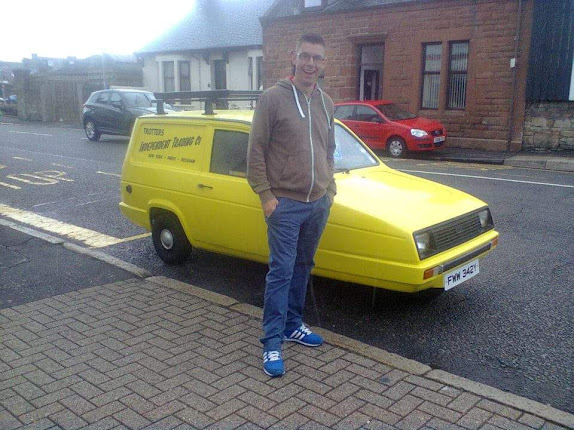 Reliant Regal Supervan in Ayr