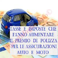 calcolo del premio assicurativo per polizza auto o moto