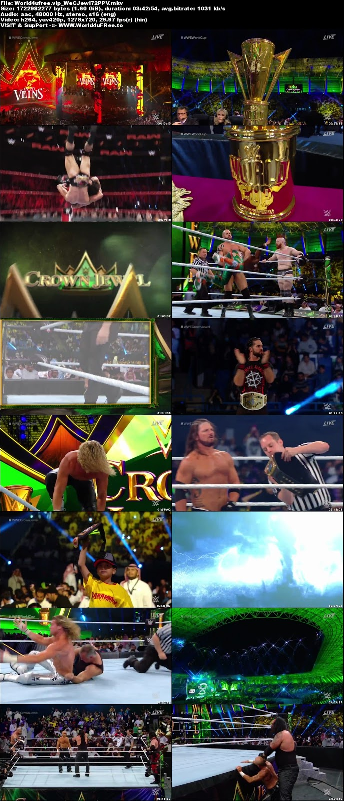 WWE Crown Jewel 2018 PPV 720p WEBRip 1.6Gb x264 Download tv show WWE Crown Jewel 2018 PPV 1.6Gb 720p compressed small size free download or watch online at world4ufree.vip