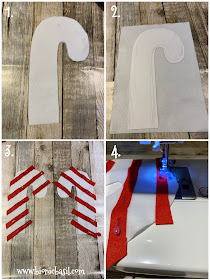 Crafting with Cats Catmas Special - Part 4  ©BionicBasil® Catmas Catnip Toy - Candy Cane