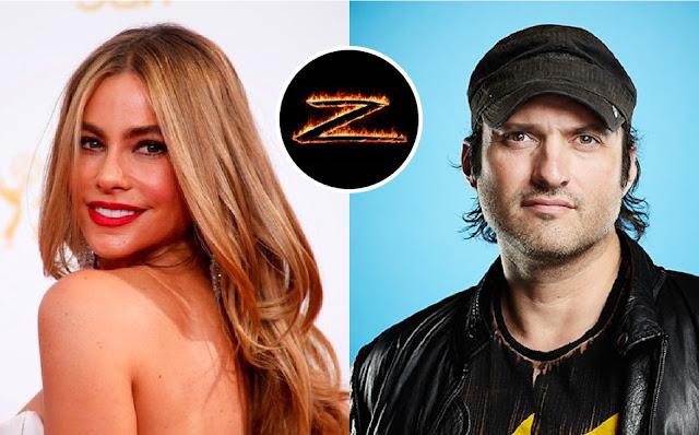 Sofía Vergara y Robert Rodríguez planean una versión femenina del Zorro