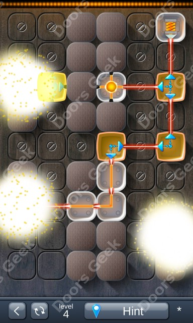 Solution for Laser Box - Puzzle (Classic) Level 4