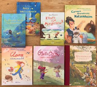 Kinderbücher aus dem Nilpferd Verlag