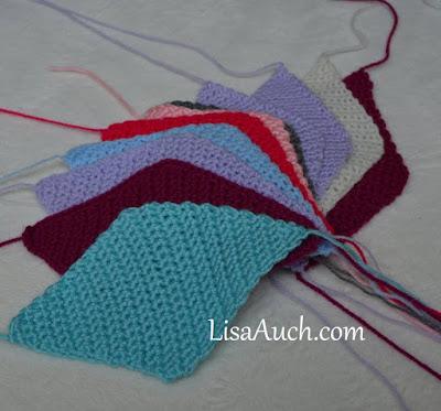 scrap yarn blanket crochet pattern