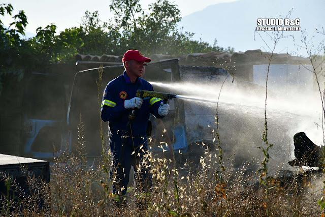 Μεγάλη κινητοποίηση για πυρκαγιά στο Κρανίδι