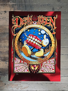 AJ Masthay Dean Ween Group Poster Print Brooklyn Toads place