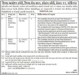 District Planning Office Jobs 2019
