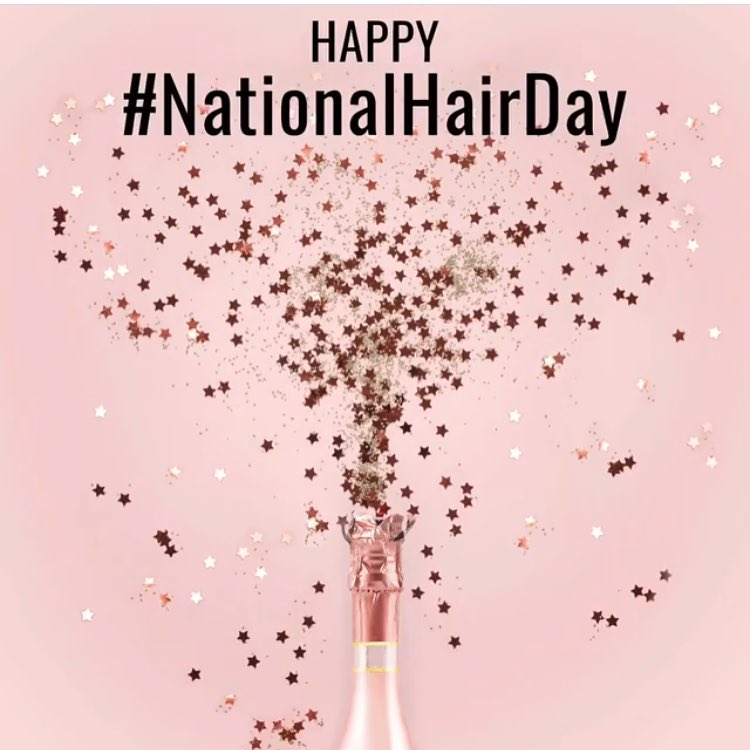 National Hair Day Wishes Photos