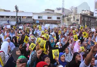 أنصار مرسي ينسحبون من الشوارع ويتوعدون بالرد علي المحاكمة غداً 4/11/2013 على موقع ايجى كول