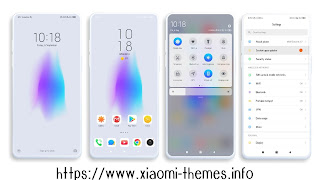Pure white V2 miui theme