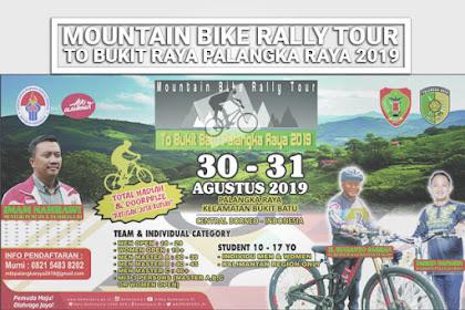 Mountain Bike Rally Tour To Bukit Batu Palangka Raya 2019