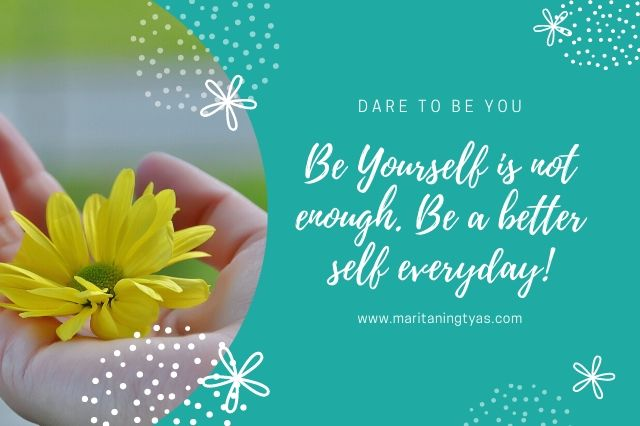 be yourself is not enough