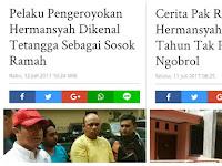 Media BLOW UP Sisi Baik Pembacok, Tapi Korek Sisi Jelek Keluarga Hermansyah