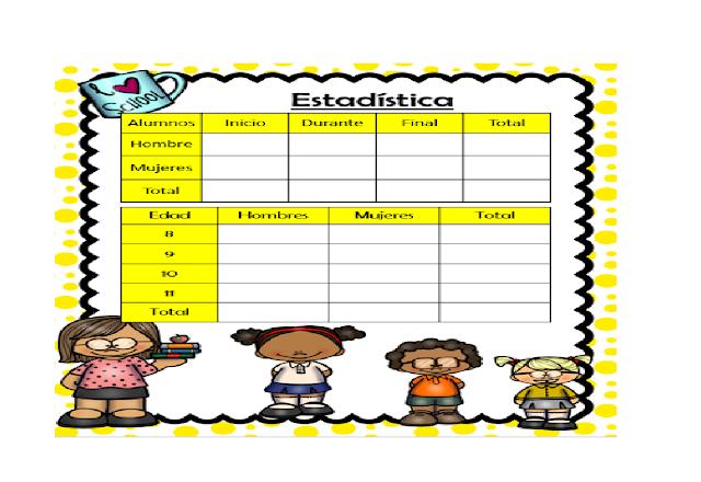 primaria,niños,agenda