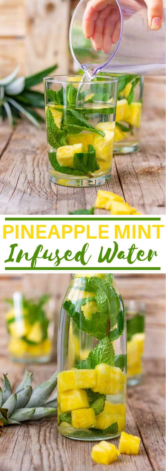 Pineapple Infused Water #healthy #drinks #smoothie #detox #infusedwater