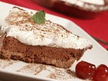 Receita de Torta de Chocolate com Marshmallow de Microondas