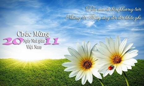 thiệp ý nghĩa mừng ngày nhà giáo việt nam 20-11