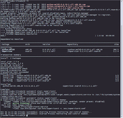 Install Supervisord in Redhat