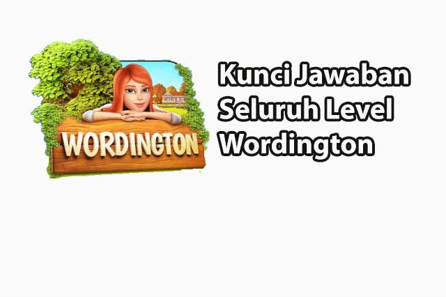 Kunci Jawaban Wordington A Word Story