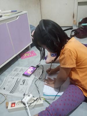 kekurangan belajar online