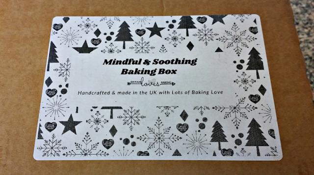 Mindful baking box