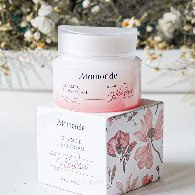Mamonde Ceramide Light Cream Hibiscus Review