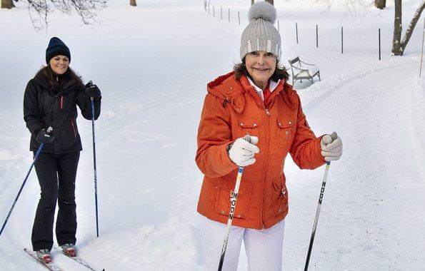 King Carl Gustaf, Queen Silvia, Crown Princess Victoria, Prince Daniel, Princess Estelle and Prince Oscar