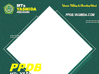 Download Desain Twibbon PPDB MTs Yasmida Ambarawa