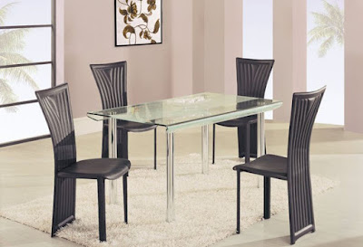 Modern-High-class-Rectangular-Glass-dining-tables