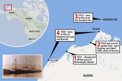 Bí ẩn con tàu ma Baychimo thoắt ẩn thoắt hiện trên biển gần 4 thập kỷ