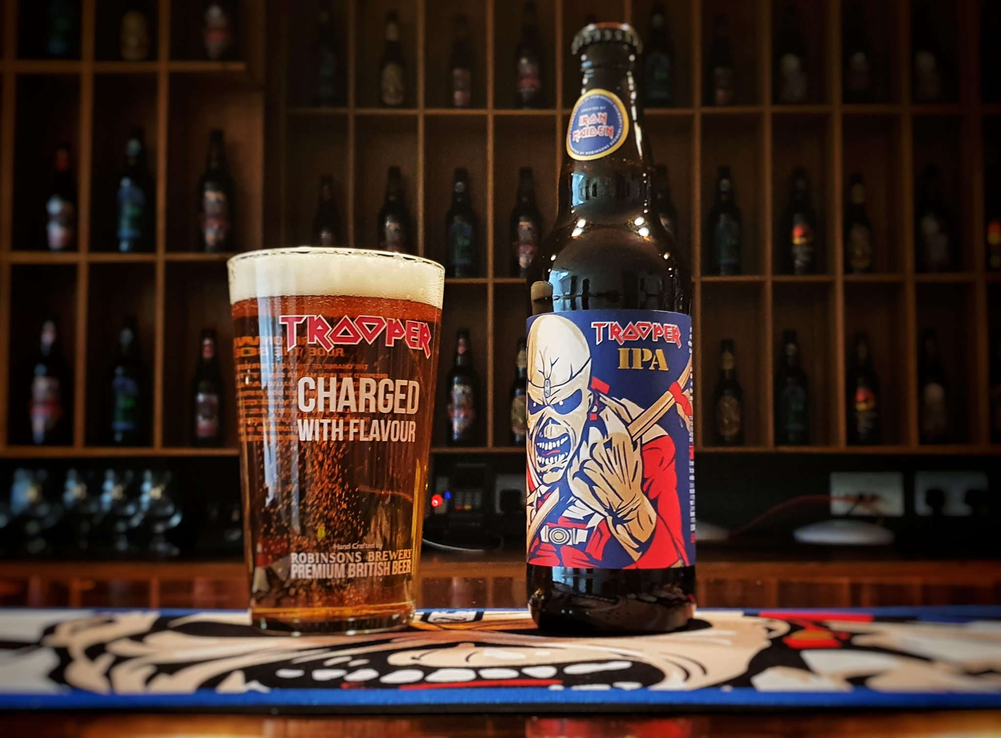 Trooper IPA: nova cerveja do Iron Maiden disponível no Brasil