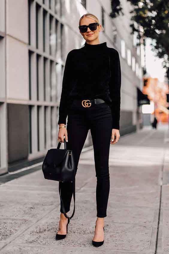 Como ser fashion usando o pretinho básico