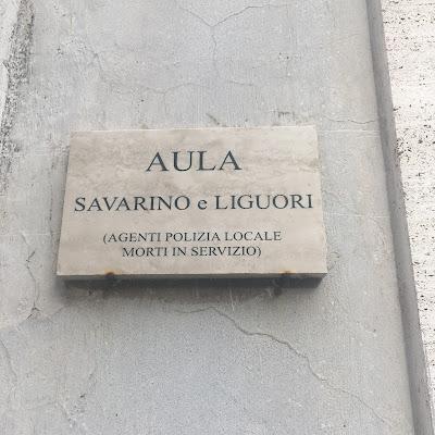 Aula Savarino e Liguori