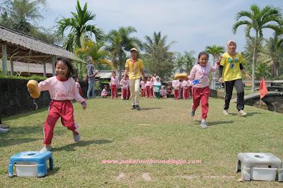 Outbound Anak TK, PAUD, SD, SMP di Jogja