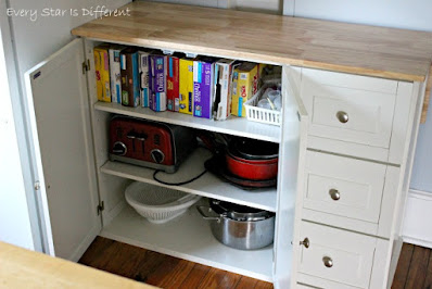 A Minimalist Montessori Kitchen: Storage Options